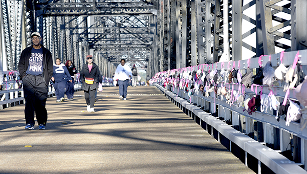 Riverwalk Cancels Bras Along The Bridge Campaign Makes Donation Instead The Vicksburg Post The Vicksburg Post